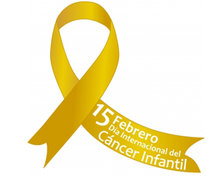 Lazo dorado Cancer Infantil