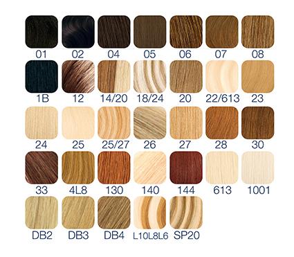 colores extensiones queratina