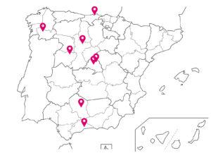 mapa centros asociados