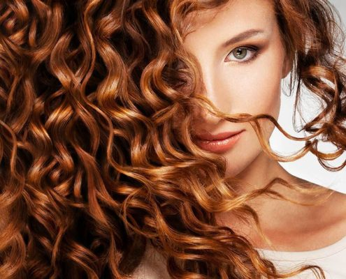 peluca rizada oncologica pelo natural