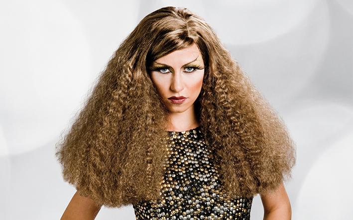 pelucas fantasia para Drag Queen
