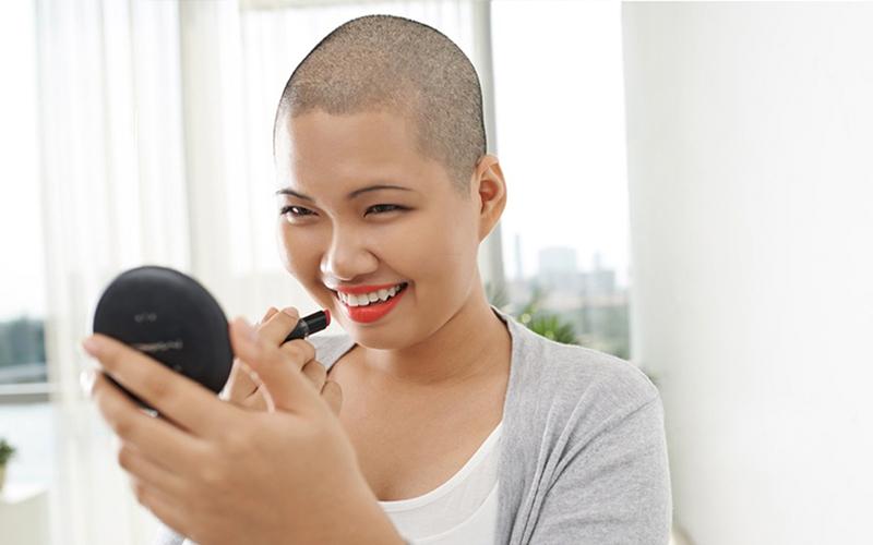 debo rasurarme cabeza antes de quimio