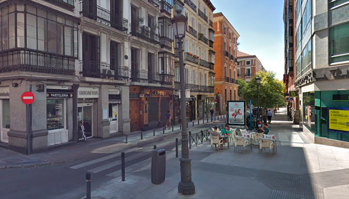 calle barquillo madrid centro