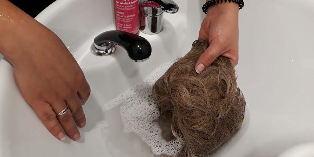 cuidado peluca despues verano